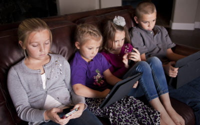 We've replaced play with entertainment – and it is not boding well for children's emotional health.